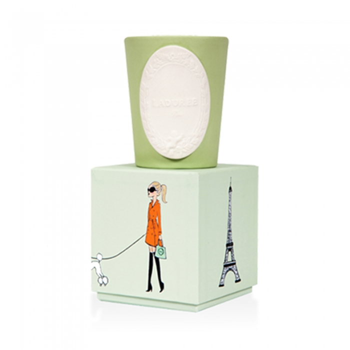 Laduree Аромасвеча Lucky Charms Paris ZELENA UA