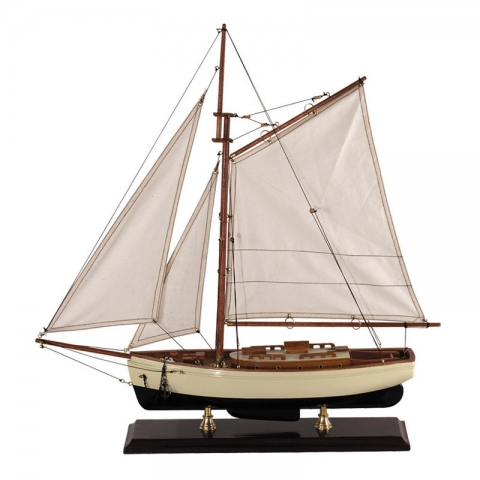 Authentic Models Sea Яхта Классик 1930г 55х13х60
